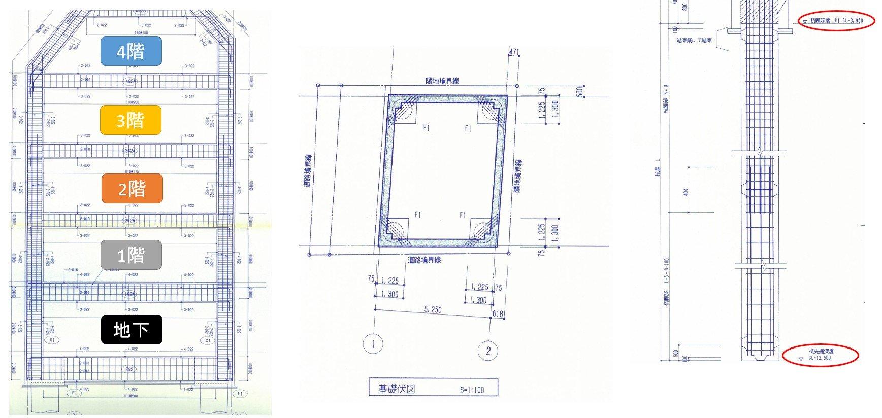 当家の構造(中古事務所ビルをリノベーション)