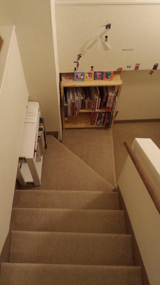 階段に棚を追加(2016-1-16)