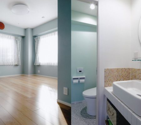 3階/寝室(12帖)、ウォークインクローゼット(2帖)、押入れ、洗面所、トイレ