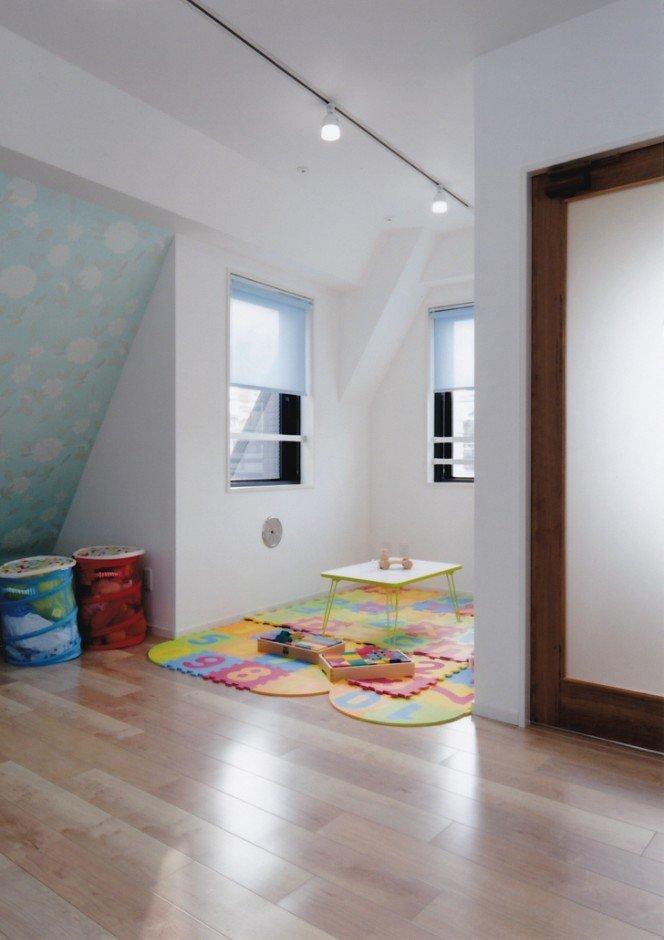 リノベーション後の4階。子供部屋。