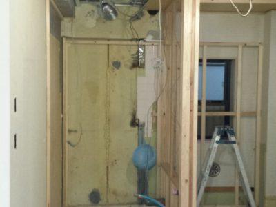 リノベーション工事写真 3階 トイレ リフォーム工事写真