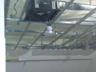 二重天井解体状況