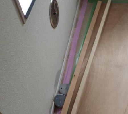 (105)4階ふわふわフローリング工事 他(写真たくさん)/リノベーション工事36日目