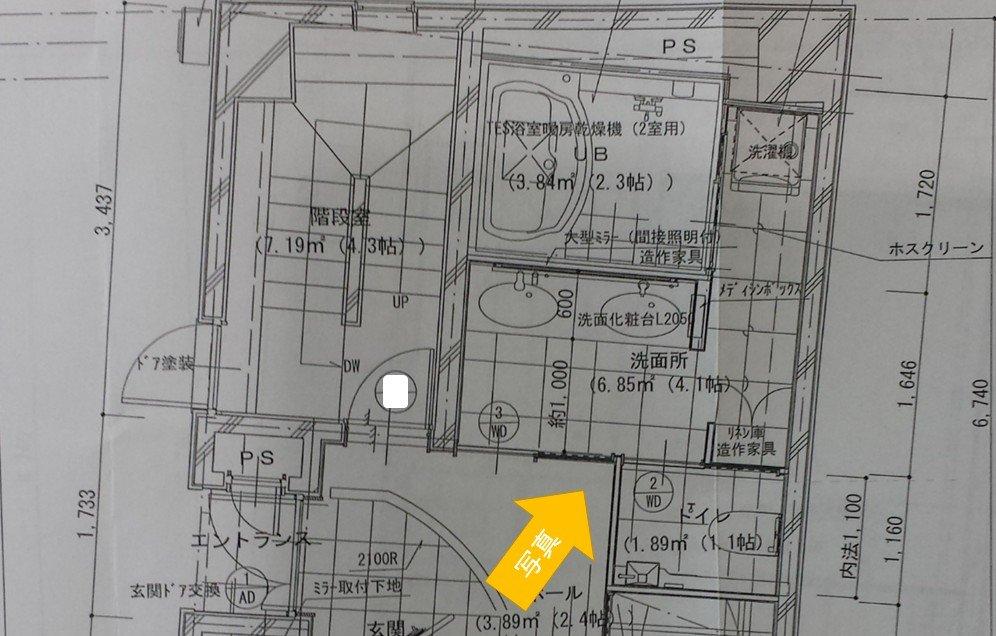1階 施工図面
