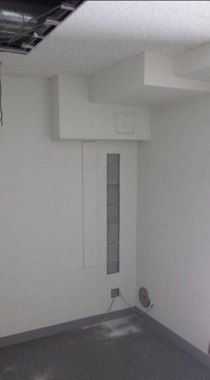 (99)地下室 防水・漏水対策用二重壁/リフォーム・リノベーション工事27日目