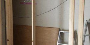 (125)リノベーション工事/1階木工事(トイレ、クローゼット)