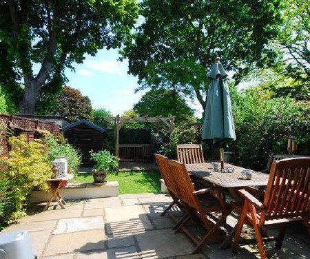 イギリスのお庭。リノベーション