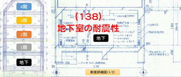 地下室の耐震性