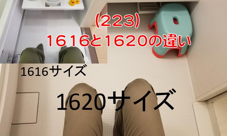1616と1620の違い
