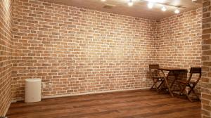 ホームジムとなる地下室の広さ約10畳