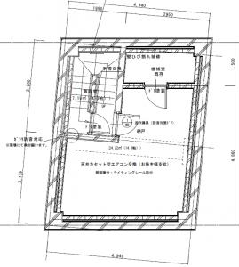 ホームジムを設置する地下室の広さ約10畳