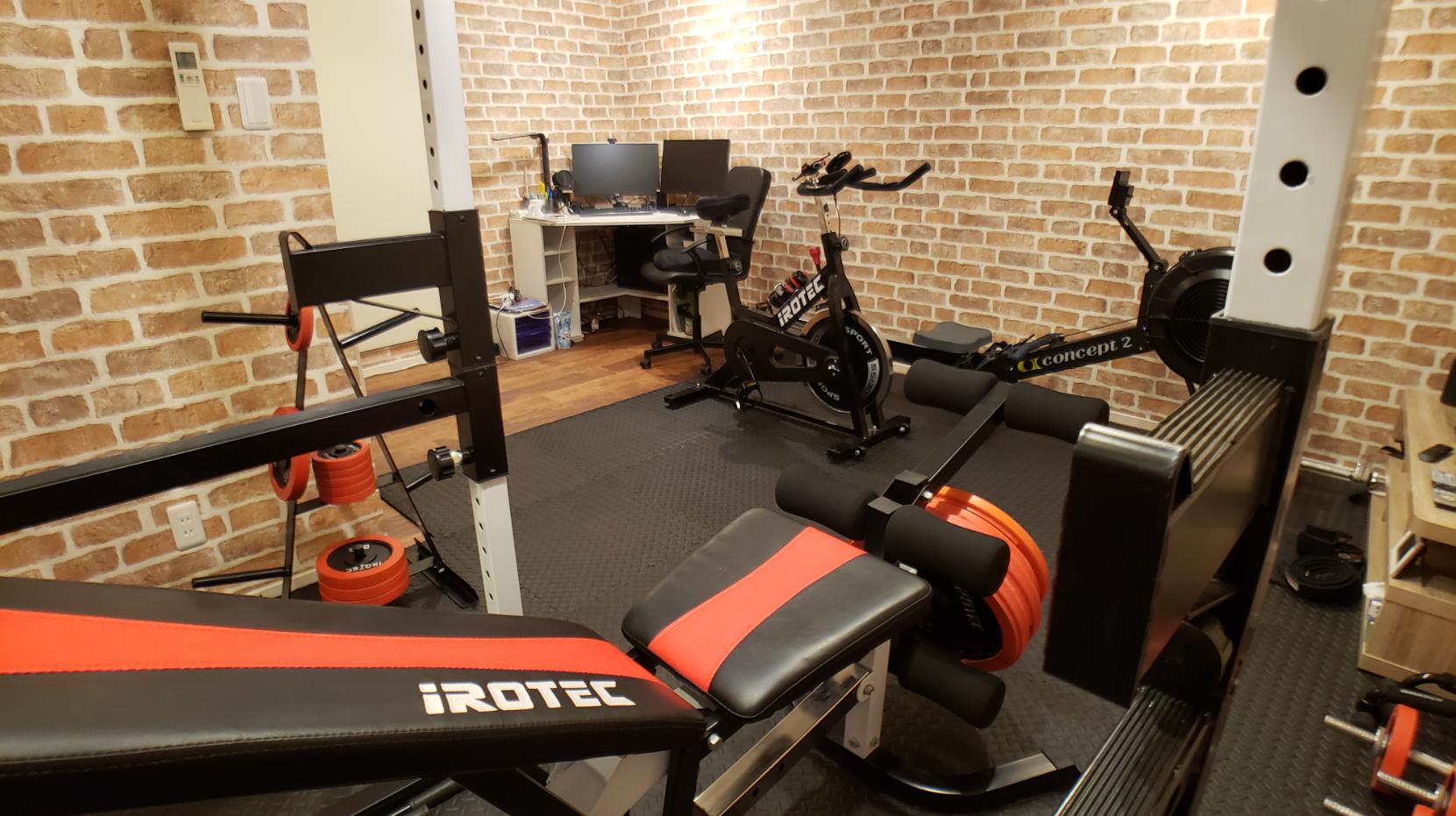 home gym 10 tatami-mat