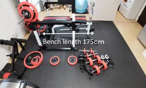 Irotech Muscular Set bench Length 175cm